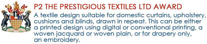 P2 The prestigious textiles ltd award